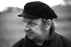 Brody (silverwine) Tags: black white blackwhite face portrait rugged farmer shetlander shetlands shetlandislands bw