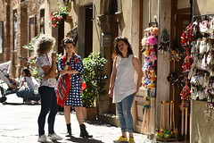 (Petr Marsal) Tags: people pienza small town valdorcia historic centre