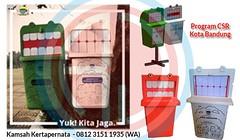 Tong Sampah Karakter Kartun Dalam Program CSR Perusahaan (Ramdhani Jaya) Tags: news tong sampah fiber csr gambar kartun perusahaan