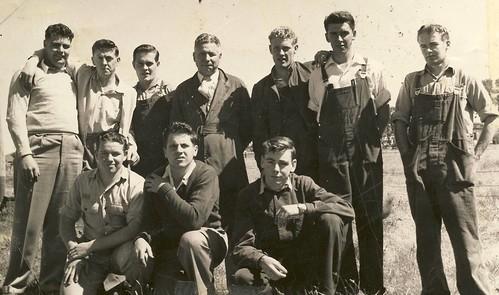 PMG LIT 1958 Lineman in Training Group 29 Goulburn