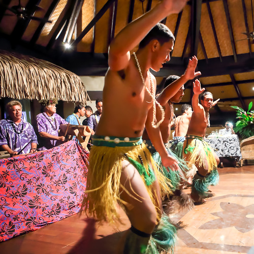 The dance, Aitutaki (09/11)