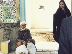 Dervish & girl (hamedpahlevan) Tags: culture photography iran girl dervish street