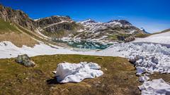 Agnel Lake (Ettore Trevisiol) Tags: ettore trevisiol nikon d7200 nikkor 18 70 d300 tokina 11 20 55 200 gran paradiso national park mountain landscape snow