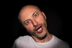 Adult Grimaces series: An Italian temporary fool (Phototravelography) Tags: adultgrimace grimaces italy nikond5100 portrait closeup detail expression expressive foolingaround fun man person