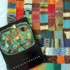 WIP (*blythe-berlin*) Tags: 13stitches hundertwasser inspired blanket stricken knitting selfmade opal sockyarn usewhatyouhave
