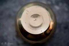 Bottoms Up! HMM! (leahbryan1) Tags: 105mm macro macromondays bottomsup bowl brass