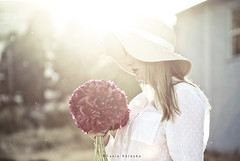 Sunset time... (ktania) Tags: sunset summer sun sunshine summerlife summersunset nature naturesfinest national nationalgeographic natgeo youngwoman young youngportrait portrait woman beautiful landscape flickr flower hat white whitebackground whitebackgraound pink instagram instagood canon canoneos6d canonef100mmf28macro taniakoleska taniaphotos