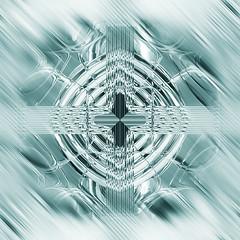 Trippy tiles.  Smudged chrome (ArtGrafx) Tags: artgrafx yinandyang tileseamless seamlesstile modern geometric geometrical design pattern designelemant metal metallic glass glaze desktoppicture desktopimage wallpaper illusion artdeco gloss shine glow surreal