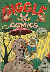 Giggle Comics 25 (Michael Vance1) Tags: art adventure artist anthology comics comicbooks cartoonist fantasy funnyanimals funny humor goldenage
