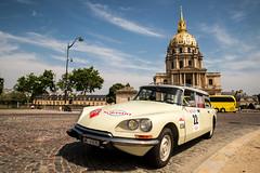 Citroen DS (dprezat) Tags: citroen ds trophéeparispékin 2017 paris invalides pékin trophée raid automobile classic cars collection nikond800 nikon d800