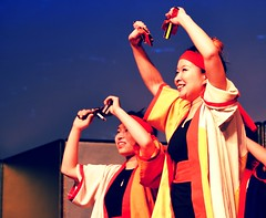 Yocchore (Sakuramai Toronto) Tags: 2017 jccc newyearsfestival sakuramai costume live people performance published show stage yosakoi kochiyosakoiambassador yosakoiambassador よさこい 高知よさこいアンバサダー よさこいアンバサダー newyear festival japanese toronto tolife dance group pose music ilovejapan お正月 祭り 日本 日本人 トロント カナダ 踊り パフォーマンス 音楽 indoor indoors color red orange girl smile naruko 鳴子