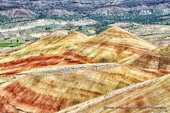 Painted Hills (Gary Grossman) Tags: oregon sevenwonders paintedhills garygrossmanphotography johndayfossilnationalmonument nationalmonument landscape hills centraloregon pacificnorthwest summer