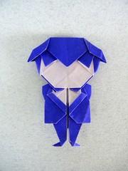 Hombre con pajarita (Cartoon Tuxedo Boy) - Roman Diaz (Rui.Roda) Tags: origami papiroflexia papierfalten hombre con pajarita cartoon tuxedo boy roman diaz