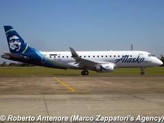 Embraer E-175 (E-170-200/LR) (Marco Zappatori's Agency) Tags: embraer e175 horizonair alaskaairlines prede n627qx robertoantenore marcozappatorisagency