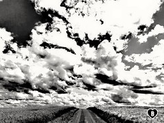THE ENDLESS WAY #Weg #way #Wolken #clouds #endless #endlos #Landschaft #landscape #schwarzweiß #blackandwhite #Photographie #photography (benicturesblackwhite) Tags: blackandwhite landscape endlos wolken way weg landschaft photography clouds endless schwarzweis photographie