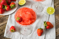 Homemade Red Frozen Strawberry Margarita (brent.hofacker) Tags: alcohol alcoholic background bar berry beverage citrus cocktail cold daiquiri drink food fresh freshness frozen frozenmargarita fruit garnish glass ice juice lime liquid liquor margarita mexican mixed party red refreshing refreshment slice strawberries strawberry strawberrymargarita strawberrymargaritas sweet tasty tequila tropical