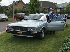 Maserati Quattroporte (peterolthof) Tags: peterolthof boxtel concorsoitaliano 21052017 maserati quattroporte