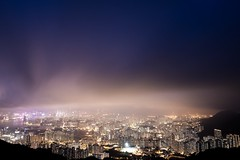 (cnewshk) Tags: victoriaharbor nightscape hongkong