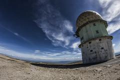 Space Observatory (Pimpame) Tags: observatoire observatory space espace ciel sky bleu blue portugal europe fisheye samyang eos canon 600d serra estrela