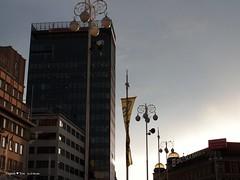 Trg bana Jelacica square, panorama