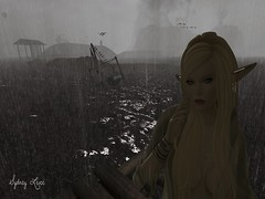 Chantons sous la pluie (Sydney Levee) Tags: elfs elf woman fantasy rain weather sexy explore sims face mystical ethnics faves addicts secondlife users famme girls look created maitreya lelutka mandala play people photoshop pinups glamaffair locations maps destinations voyage singing places snaps onsea ever vista animations poses galleries metaverse marine glamour fashion magic avatars realeases lost pretty photos photographers flickr monde world beauty nature viever firestorm fans gabriel truth hair mesh