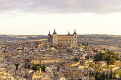 Toledo Morning (rschnaible) Tags: toledo spain espana europe cityscape landscape view building architecture sightseeing tour castle fort fortress castilla la mancha