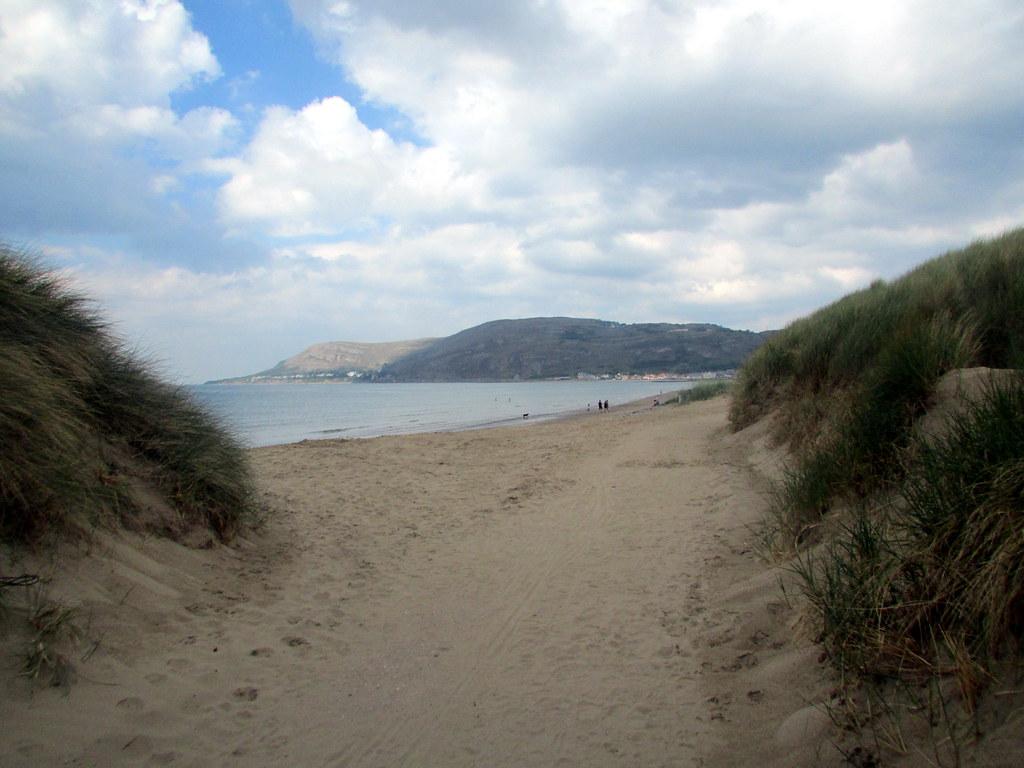 Llandudno West Shore Beach