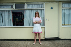 holiday park south coast UK L1000421 (rafhuggins) Tags: leica m240 south coast pontins camber sands martin parr lady