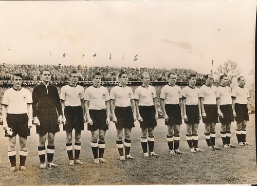 Fussball Fruher Fussball Weltmeisterschaft 1954 Die