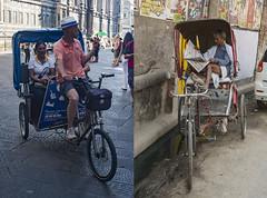 Cuando este y oeste se acerquen (Nebelkuss) Tags: collage india italia rickshaw paralelasconvergentes fujixpro1 fujix100t 23mm fujinonxf23f14 toscana uttarpradesh florencia varanasi firenze benarés