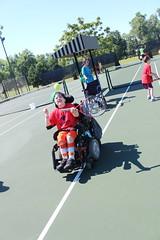 IMG_8501 (varietystl) Tags: anklefootorthotics legbraces afos tennis electricwheelchair summercamp afobraces orthotics wheelchair