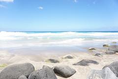 (*tmk*) Tags: kauai hawaii beach beauty blue sky ocean sand quiet landscape nature soft pastel escape travel destination happy