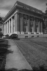 Desoto County Courthouse (Burnt Umber) Tags: desoto county courthouse brick terra cotta tile ionic order dentil entabliture architrave arch stone base torus ovolo interior door knob railing cast iron oak bonfoeyelliottarchitects readparkerconstruction florida arcadia classical traditional bnearing wall scroll rpilla001 pentax k5 digitalisthedevil tamron1750mm silverefexpro ©allrightsreserved