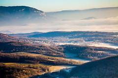 La vallée (electron2009) Tags: vallée canon france hiver ain