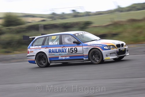 Francis Allen in the Libre Saloons championship at Kirkistown, June 2017
