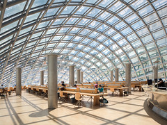 Mansueto Library (Chimay Bleue) Tags: helmut jahn architecture architect dome glass university chicago library mansueto