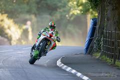James Hillier - Conker Trees, TT'17 (benstaceyphotography) Tags: jameshillier roadracing wheelie conkertrees isleofmantt iomtt tt 2017 superbike kawasaki zx10r