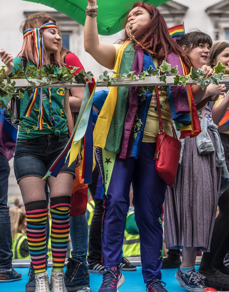 LGBTQ+ PRIDE PARADE 2017 [STEPHENS GREEN BEFORE THE ACTUAL PARADE]-129921