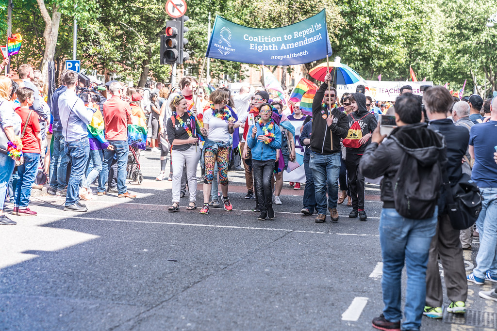 LGBTQ+ PRIDE PARADE 2017 [ON THE WAY FROM STEPHENS GREEN TO SMITHFIELD]-130066