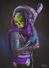 Skeletor (Philip Bonneau) Tags: skeletor motu mastersoftheuniverse heman eternia villains skull skeleton horns animalskull cape mask bodypaint underwear fruitoftheloom jockstap staff woman drag dragking philipbonneau