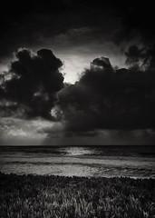 Sunset No. 8 @ Pescadero State Beach B&W (CDay DaytimeStudios w/1,000,000 views) Tags: beach ca california californiasateparks cloud clouds cloudy cloudyday coastline pacificcoast pacificcoasthighway pescaderoca pescaderostatebeach road sanmateocoast sunset surf