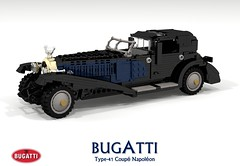 Bugatti Type-41 Coupé Napoléon - 41100 (lego911) Tags: bugatti type41 41 type royale coupe napoleon limousine coupé napoléon 41100 1927 1920s classic vintage luxury auto car moc model miniland lego lego911 ldd render cad povray lugnuts challenge 115 thefrenchconnection french connection france ettore elephant foitsop