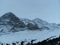 ... /\  /\ ... (project:2501) Tags: wengen jungfrauregion suisse switzerland snow ski travel theviewfromhere clouds sky bluelight blue bluebleu bleu inthemountains mountains mountain rock pinetrees alpinefauna eiger3970m mönch4107m jungfrau4158m