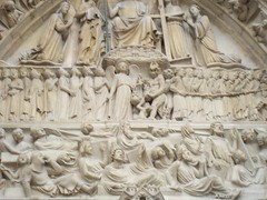 100_2827 (jrucker94) Tags: paris france europe travel vacation landmark notredamecatheral notredame catheral church catholic iledelacite cathedralofourladyofparis architecture building sculptures romanesque frenchgothic