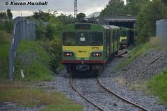 8135 at Inchicore, 22/6/17 (hurricanemk1c) Tags: railways railway train trains irish rail irishrail iarnród éireann iarnródéireann dublin inchicore 2017 class8100 dart lhb siemens 8135