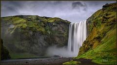 Skógafoss (Maclobster) Tags: skógafoss waterfall iceland