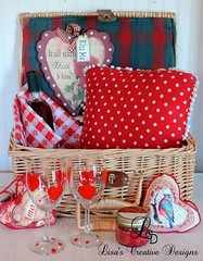 A Cozy Valentine's Day Picnic By The Fire (LisasCreativeDesigns) Tags: valentine valentinesday