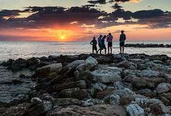 _DSC1719-2 (Giuseppe Cocchieri) Tags: allaperto mare sea alba sunrise sun sole estate summer seascaspe acqua water colore colori colour controluce backlight luce light