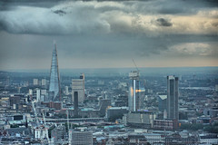 The Establishing Shot: FEAR THE WALKING DEAD LAUNCH – HDR VIEW LOOKING SOUTH OVER THE SHARD, ONE BLACKFRIARS, SOUTH BANK TOWER FROM TOP OF BT TOWER - LONDON [Sony NEX-7] (Craig Grobler) Tags: ckc1ne craiggrobler craigcalder london film tv uk theestablishingshot wwwtheestablishingshotcom theestshot attheestshot fearthewalkingdead thewalkingdead zombies fearthewalkingdeadpremiere bttower launch party dj views ftwd herontower tower42 thegherkin 30stmaryaxe 122leadenhallstreet cheesegratertower leadenhallbuilding cheesegrater onecanadasquare 25canadasquare citigrouptower 20fenchurchstreet thewalkietalkie walkietalkie stpaulscathedral uclcruciformbuilding universitycollegelondon hydepark regentspark bluehour stmaryleboneparishchurch parkviewresidence hdr allsoulslanghamplace thelangham palaceofwestminster housesofparliment clocktower bigben victoriatower portcullishouse foreigncommonwealthoffice fco millenniumeye seacontainershouse oxotower theshard oneblackfriars southbanktower harrods sony sonynex5 nex5