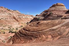 Paria New Discoveries: Fractal Wave (Chief Bwana) Tags: az arizona pariaplateau vermilioncliffs navajosandstone psa104 chiefbwana secretpocket fractalwave 500views